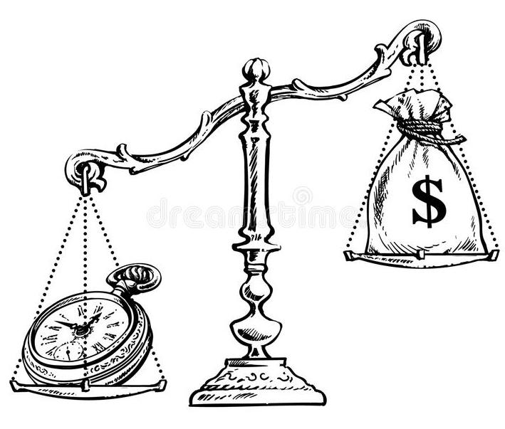 le temps vaut plus que l'argent