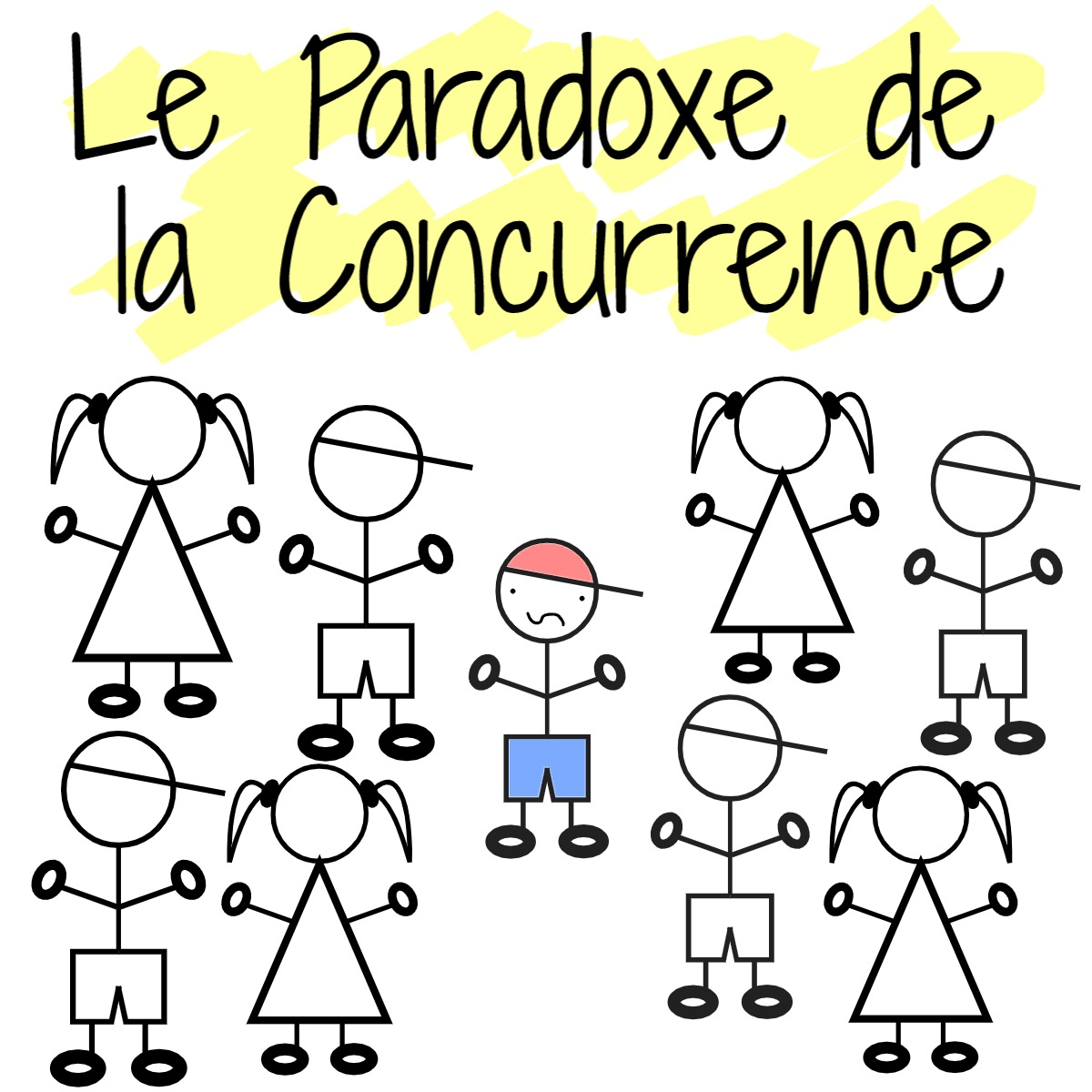 paradoxe concurrence freelance