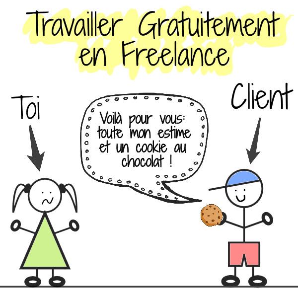 travail gratuit freelance